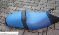 Čalounění sedla na motocykl