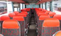 Čalounění sedaček do autobusů